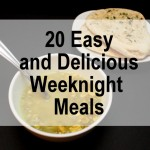 Easy, yummy and doable weeknight meals - Rae Gun Ramblings