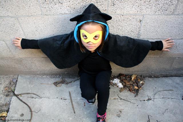 How to make a Bat Girl cape - Rae Gun Ramblings
