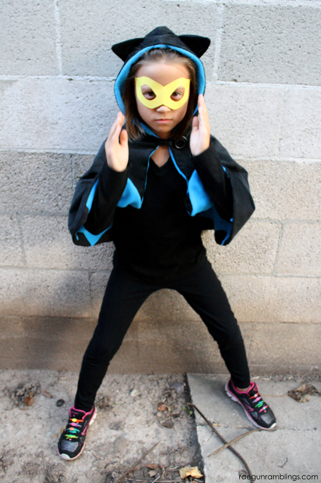 DIY Bat Girl costume - Rae Gun Ramblings