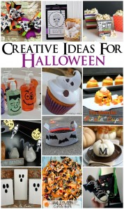 Great collection of creative Halloween ideas - Rae Gun Ramblings #halloween #crafts #diy #recipes