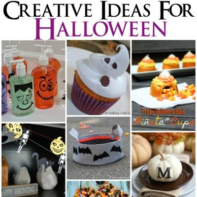 Block Party: Halloween Crafts, Recipes, Home Decor and More Features