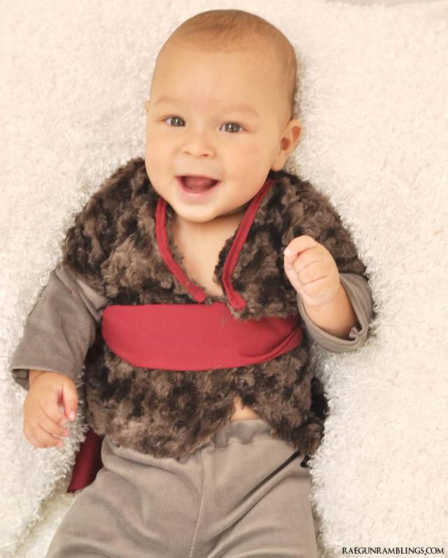 Baby Kristoff Costume Tutorial - Rae Gun Ramlblings