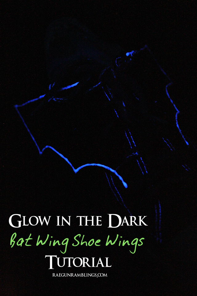 5 Minute DIY bat wing show wings tutorial - Rae Gun Ramblings