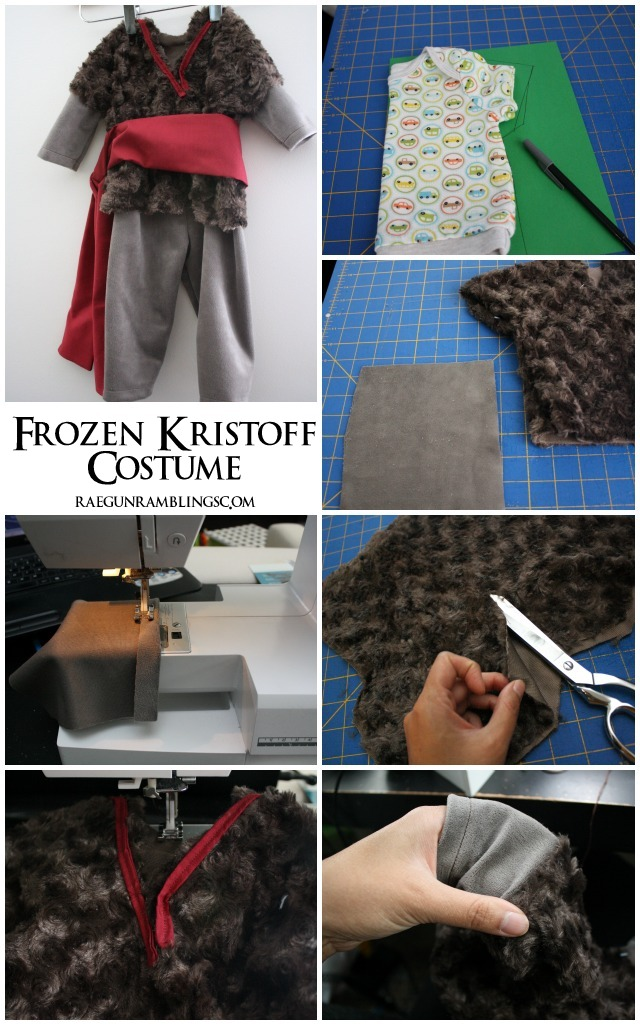 30 Minute Frozen Kristoff Costume Tutorial - Rae Gun Ramblings