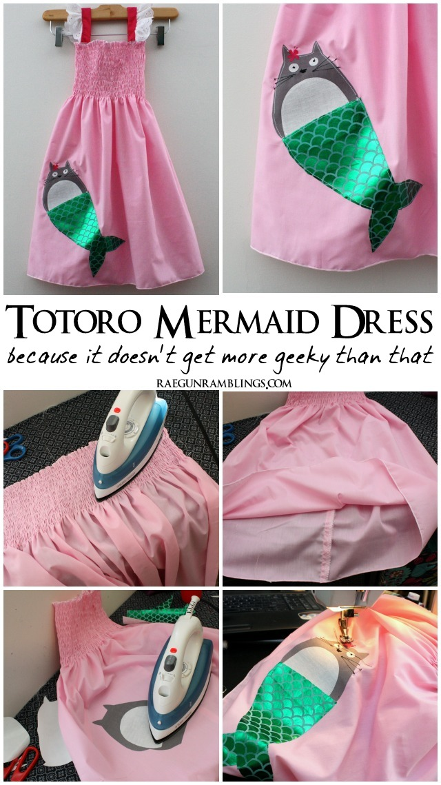 Super easy Tororo mermaid dress - Rae Gun Ramblings