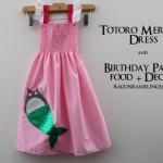 Totoro mermaid dress and birthday party - Rae Gun Ramblings