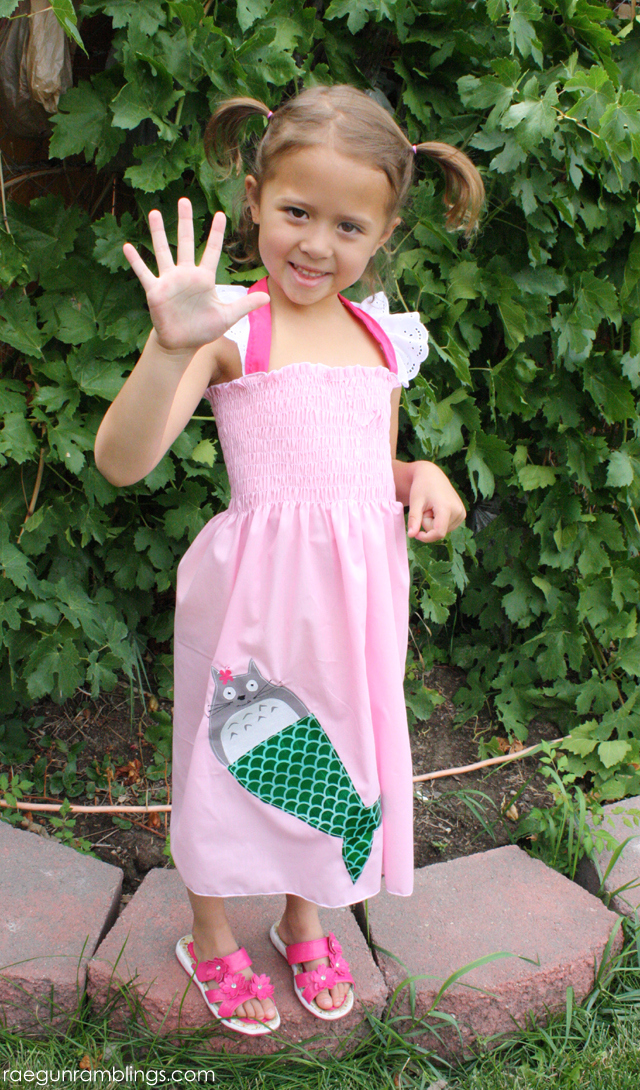 totoro mermaid party dress - Rae Gun Ramblings