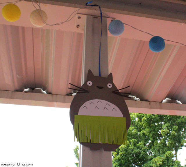 Tororo birthday party decorations - Rae Gun Ramblings
