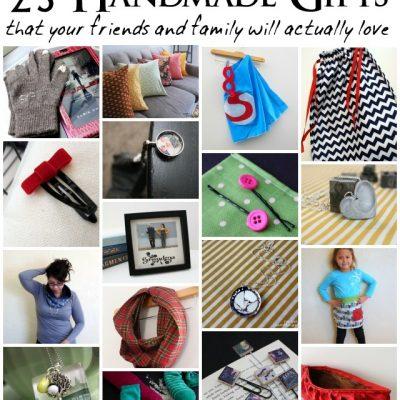25 Handmade Gift Tutorials
