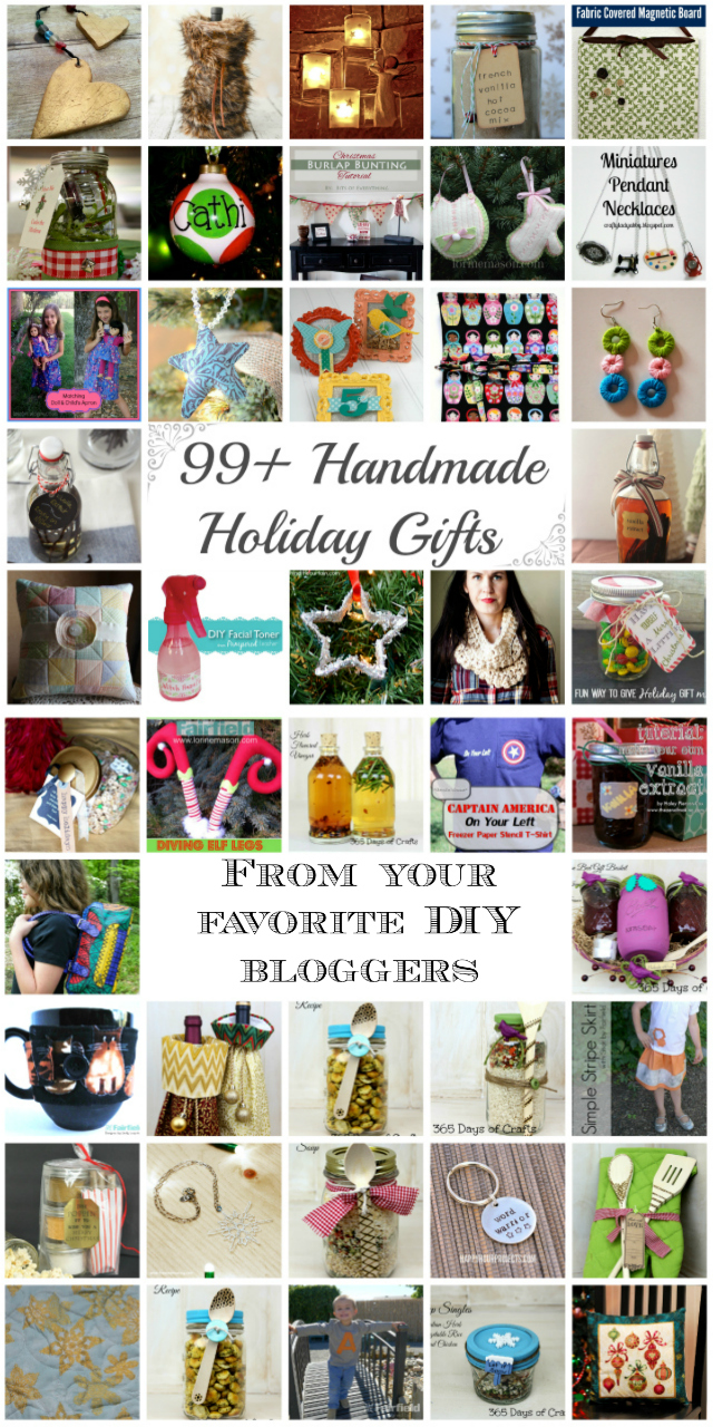 99 Handmade Holiday Gift Tutorials - Rae Gun Ramblings