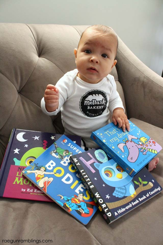 Great baby book round up that aren't the standards - Rae Gun Ramblings