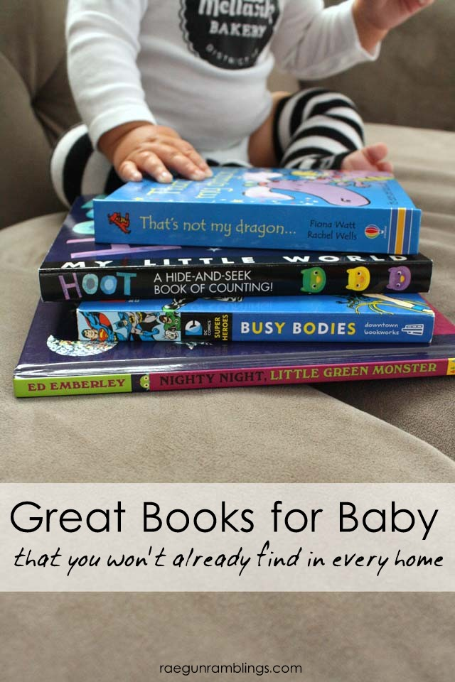 Great baby books that aren't the same old same old that people give at showers - Rae Gun Ramblings
