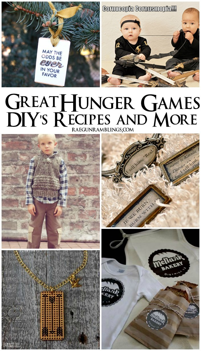25+ Great Hunger Games DIYs and more - Rae Gun Ramblings
