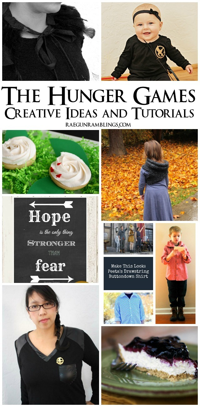 Great recipes crafts book recommendations and party ideas all about the Hunger Games - Rae Gun Ramblings