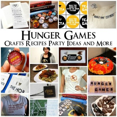 Happy Hunger Games DIY's Crafts Recipes and More (and a giveaway!)