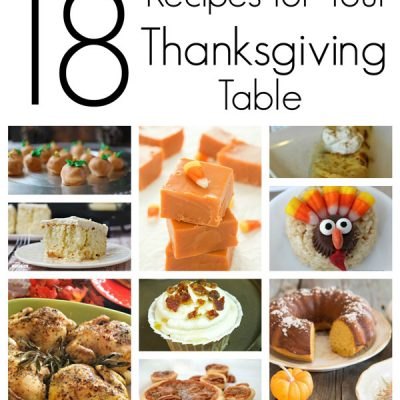 Great List of Thanksgiving Recipes