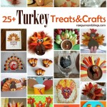 Tons of quick and easy Turkey Crafts and treats perfect for Thanksgiving - Rae Gun Ramblings