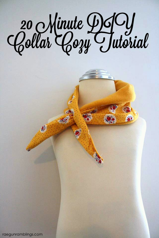 Super cute variation on the scarf would be a great gift idea - Rae Gun Ramblings