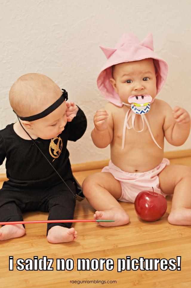 Baby Pictures hunger games - Rae GUn Ramblings