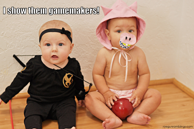 silly hunger games baby pictures - Rae Gun Ramblings