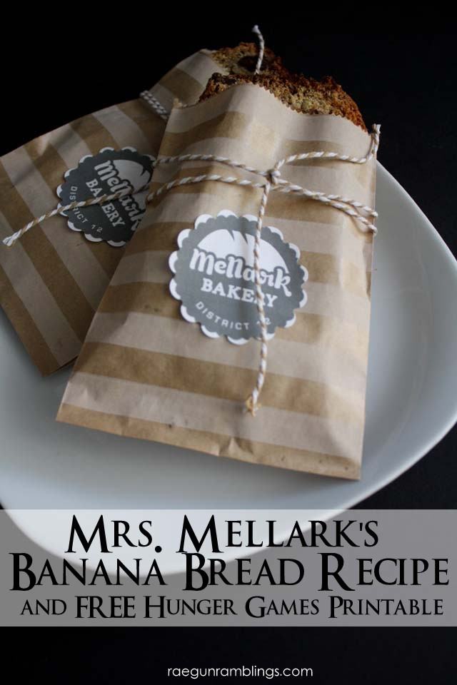 Free Hunger Games printable. Mellark Bakery - Rae Gun Ramblings