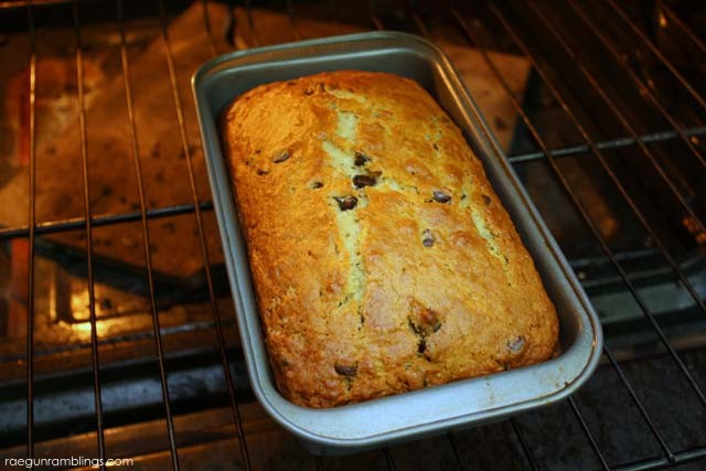 Delicious and easy Chocolate Chip Banana bread recipe - Rae Gun Ramblings