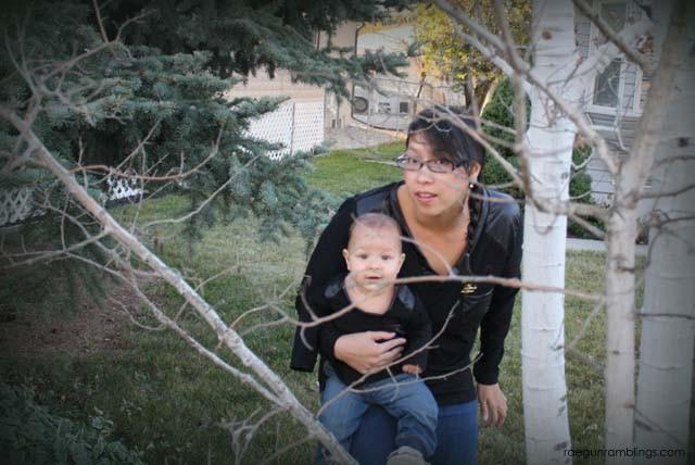 Mommy and Me Hunger Games DIY tops - Rae Gun Ramblings