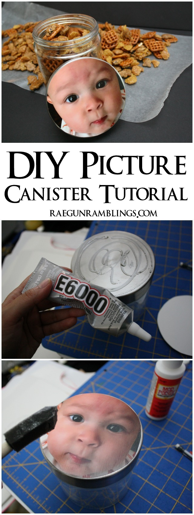 How to make a quick and easy photo jar - Rae Gun Ramblings