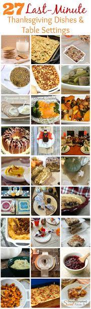 Fabulous last minute Thanksgiving recipes and ideas - Rae Gun Ramblings