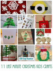 11 Christmas Kids Crafts