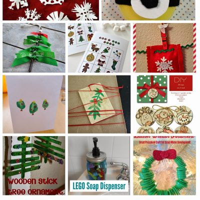 Block Party: Last Minute Christmas Kids Crafts