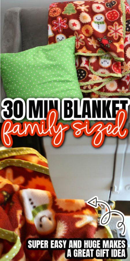 pillow blanket sewing machine