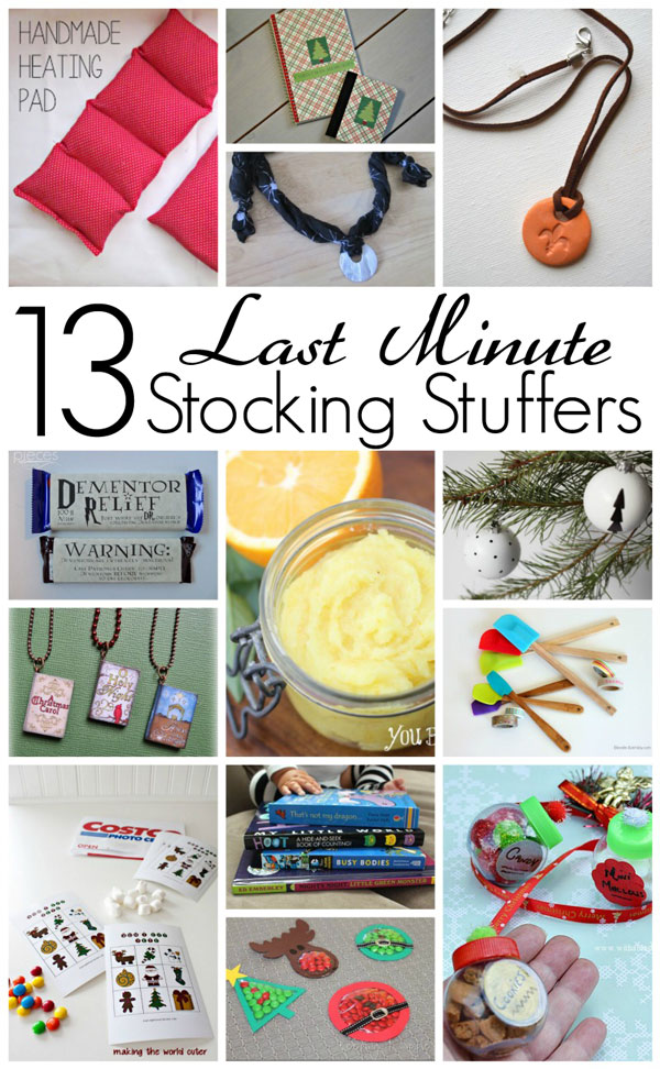 Block Party Last Minute Stocking Stuffers Features Rae