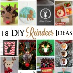 Great deer and reindeer tutorials, recipes and craft ideas - Rae Gun Ramblings