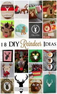 Great deer and reindeer tutorials, recipes and craft ideas - Rae Gun Ramblings