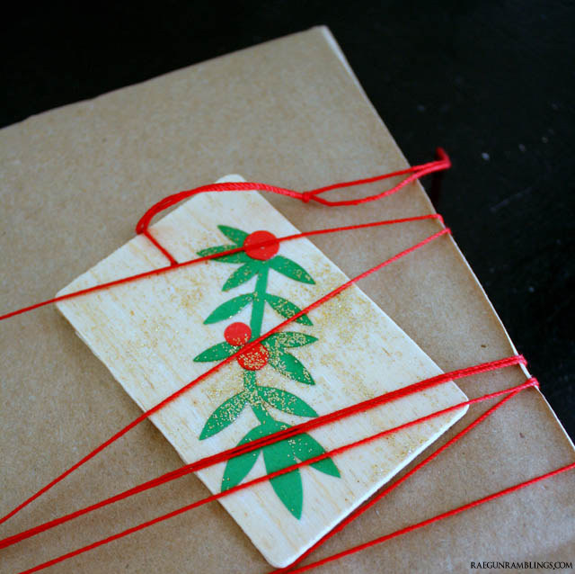 Quick and easy DIY Christmas ornaments and gift tags - Rae Gun Ramblings
