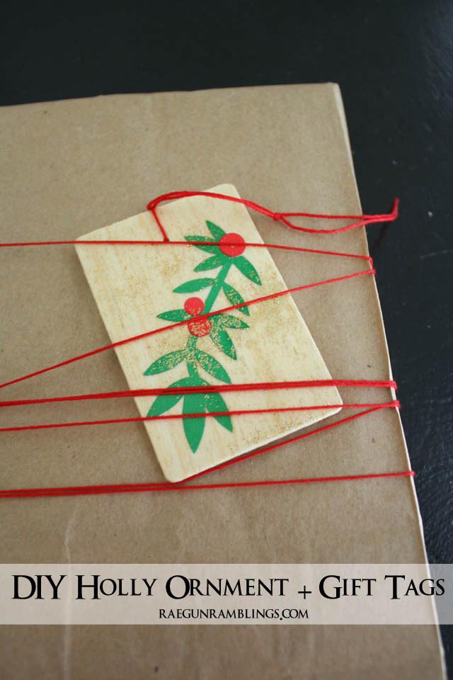 Double Duty Christmas Gift Tags and Oranments - Rae Gun Ramblings