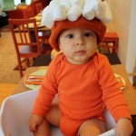 Baby Sweet Potato costume! Brilliant and so easy - Rae Gun Ramblings