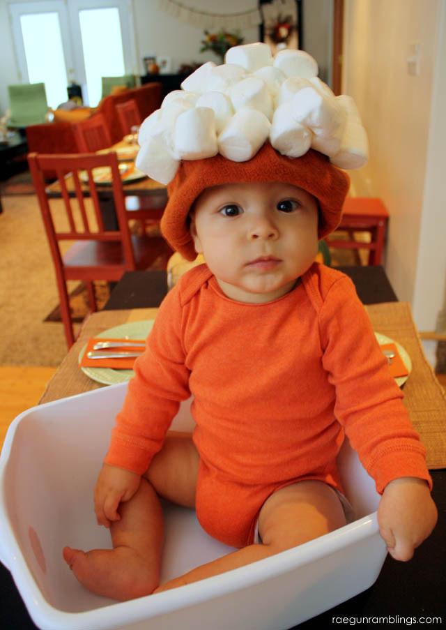 Baby Sweet Potato costume! Brilliant and so easy - Rae Gun Ramblings