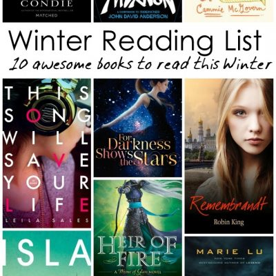 Winter Reading List 10 Great YA Books