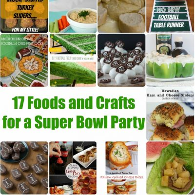 Super Bowl Food and Craft Ideas