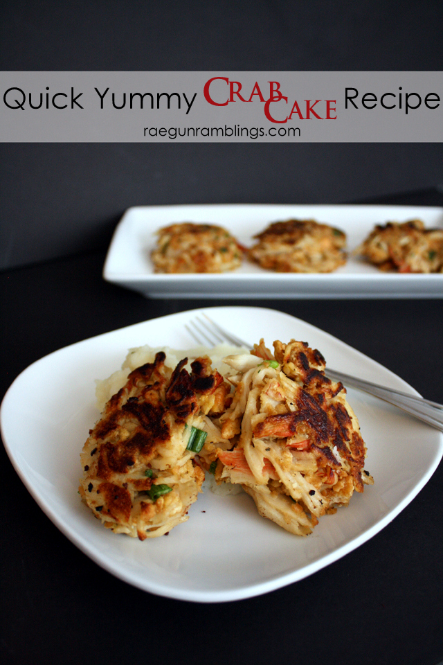 20 minute delicious crab cakes recipe - Rae Gun Ramblings