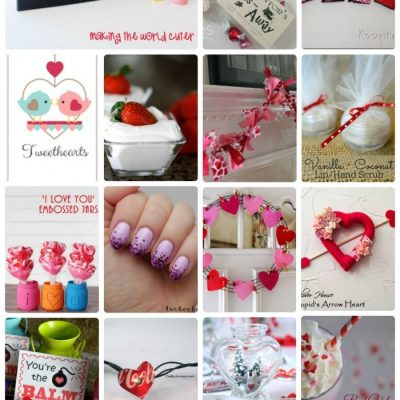 Valentine's Day Craft Tutorials and Treats