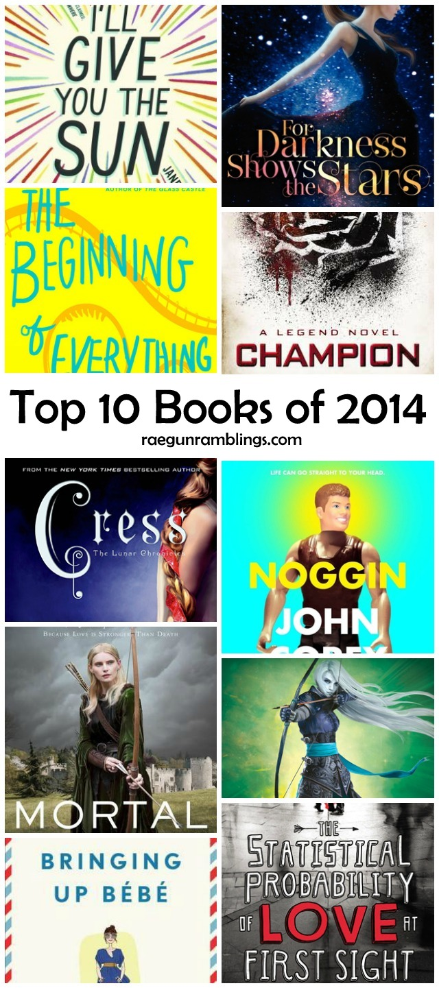 Best books of 2014 - Rae Gun Ramblings