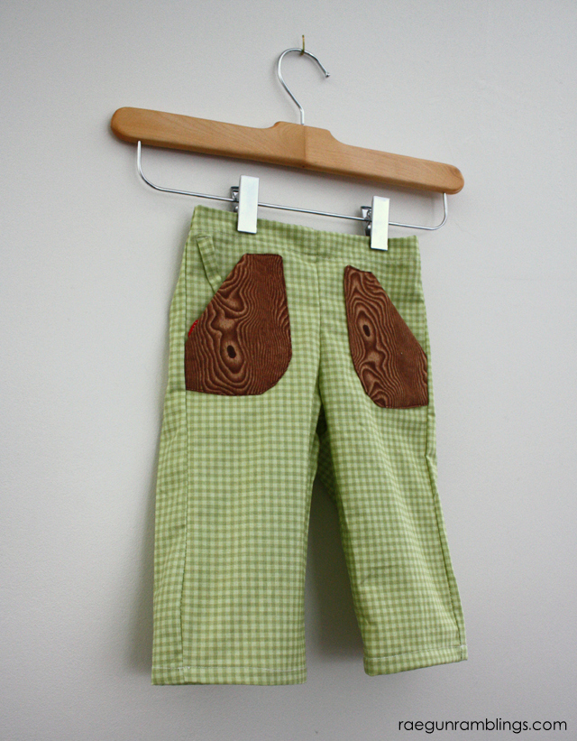 If Only Designs Bottoms Up Pants sewn by Rae Gun Ramblings