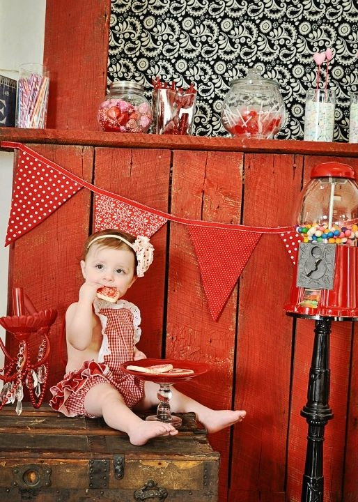 Adorable vintage inspired baby photoshoot with raegunshop.com jumper