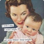 funny baby sleep memes