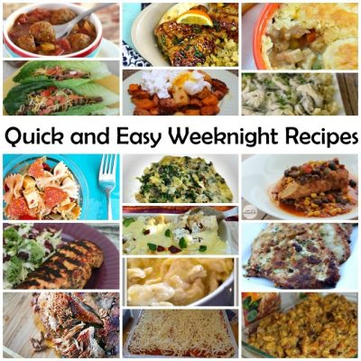 Easy Weeknight Meal Recipes Features