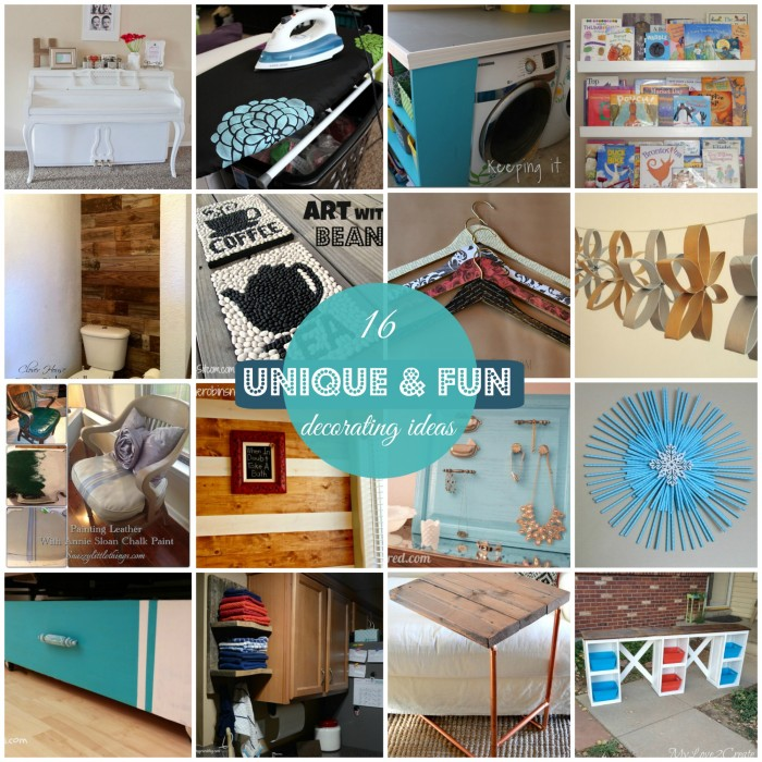 block party unique and fun home decor features rae gun ramblings - Fun Home Decor Ideas