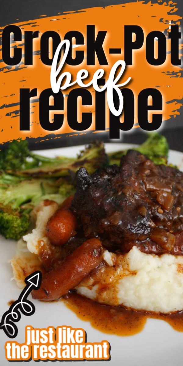 Delicious and easy Crockpot Beef and gravy recipe for 2 or more